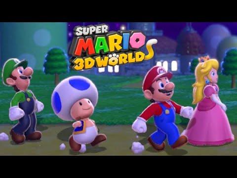 Xxx Mp4 Super Mario 3D World Full Game Co Op Walkthrough All Green Stars 3gp Sex