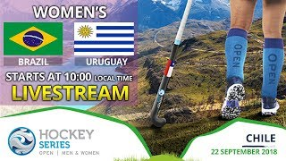 Brazil v Uruguay | 2018 Women's Hockey Series Open | FULL MATCH LIVESTREAM