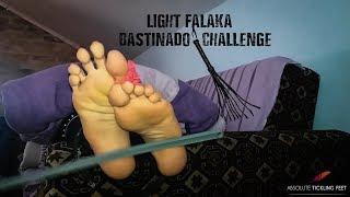 Light falaka (bastinado) challenge - bare feet