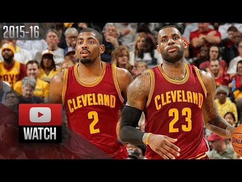 LeBron James & Kyrie Irving Full Highlights at Pacers (2016.02.01) - 49 Pts, CLE Feed