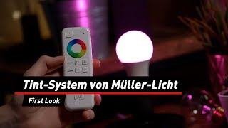 Smarte Lampen bei Aldi: Tint-System von Müller-Licht