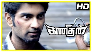 Kanithan Tamil movie | Scenes | Atharva starts investigating from consultancy | Bhagyaraj | Sunder