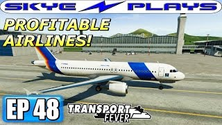 Transport Fever Let's Play / Gameplay Part 48 ►PROFITABLE AIRLINES!◀ (2025)