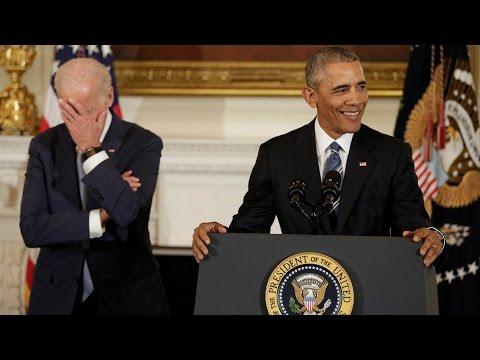 Obama surprises VP Joe Biden with Presidential Medal of Freedom