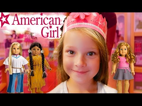 👑 AMERICAN GIRL DOLL BIRTHDAY SURPRISE 🎉