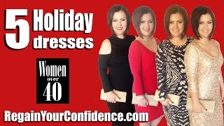 5 Holiday Dresses Under $100 For Women Over 40 - Regain Your Confidence