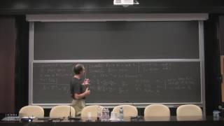 School on Hyperbolic Dynamics - Monday 12 June