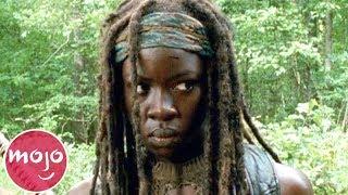 Top 10 Badass Michonne The Walking Dead Moments