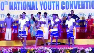 Tamilnadu Region ICYM-NYC 2017 Cultural Programmes from Regions