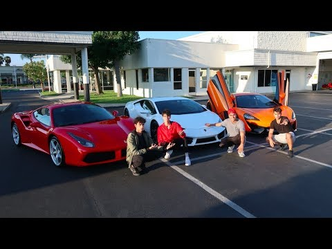 WE BOUGHT OUR DREAM CARS