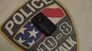 VEHO MUVI HD-10 Camcorder with wireless remote. Affordable Body worn Camera.