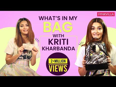What's in my bag with Kriti Kharbanda | S03E08 | Fashion | Bollywood | Pinkvilla