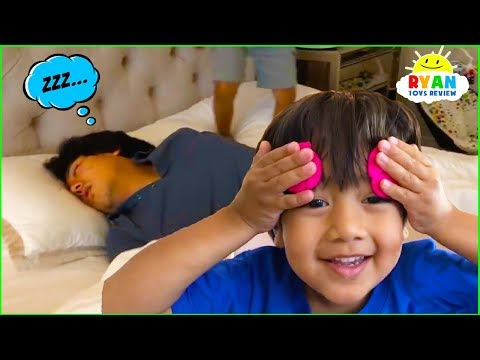 Don t Wake Daddy Challenge In Real Life Pretend Play Fun