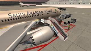 Flight 787 Advanced tutorial for takeoff in 3D