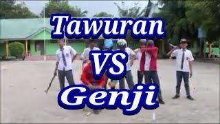 Tawuran vs Genji (Video lucu)