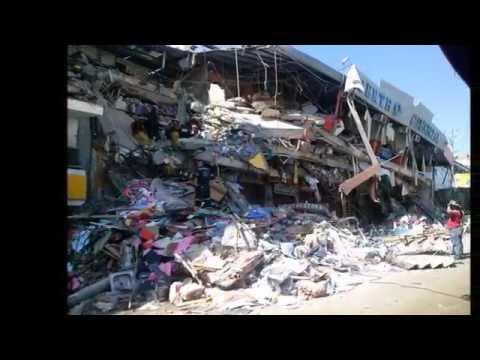 EL ANTES Y DESPUÉS DEL TERREMOTO EN LA PARROQUIA TARQUI MANTA ECUADOR