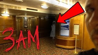 HAUNTED QUEEN MARY SHIP AT 3AM