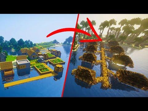 Xxx Mp4 EXTREME Minecraft Village Transformation Tropical Resort Edition World Download 3gp Sex