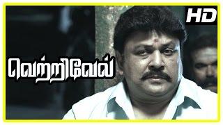 Vetrivel tamil movie   scenes   Title Credits   Viji blames Prabhu for her husband's death