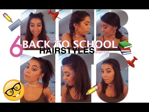 Xxx Mp4 6 BACK TO SCHOOL HAIRSTYLES For Short Hair Lili Martins 3gp Sex