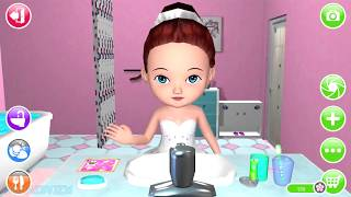 Ava the 3D Doll Toilet Bath Time Dress Up Play Dance Gameplay Video