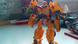 transformers bumblebee stop motion