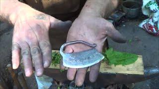 Blacksmithing - Forging An Herb Chopper