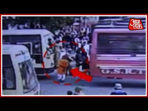 Rajkot: Man Crushed betweenTwo Buses Due to Driver's Negligence