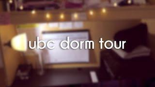 UBC Dorm Tour Place Vanier