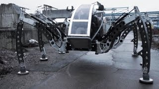 Micromagic Systems - Mantis Hexapod Walking Machine [1080p]