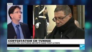 Révolte en Tunisie :