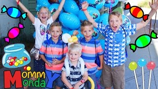 Candy & Crafts at the Storks Carnival    Mommy Monday