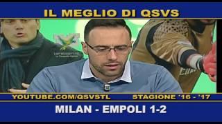 QSVS - I GOL DI MILAN - EMPOLI 1-2 TELELOMBARDIA / TOP CALCIO 24