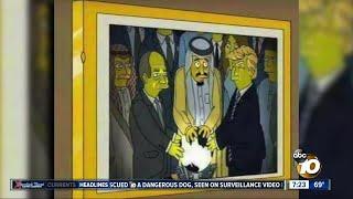 2002 Simpsons episode predicted Trump orb encounter?
