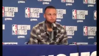 Stephen Curry says he