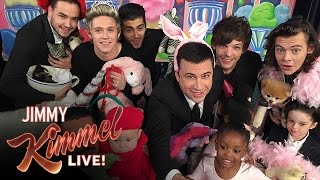 Jimmy Kimmel & One Direction Take the #CutestSelfieEver
