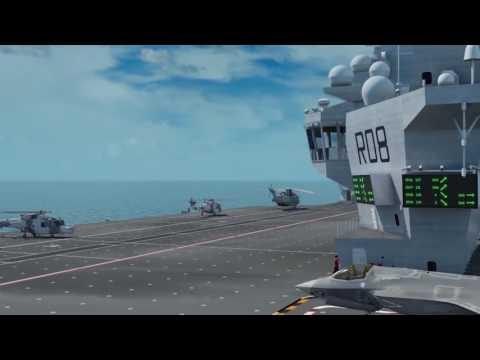 Carrier Queen Elizabeth, F-35B overview