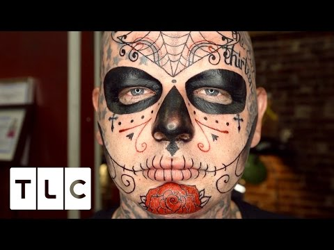 EXTREMELY Painful Face Tattoo Tattoo Girls