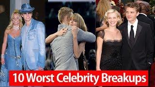 Top 10 Worst Celebrity Breakups In Hollywood History - AllTimeTop