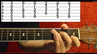 Patience by GUNS N' ROSES - Guitar Lesson - Slash
