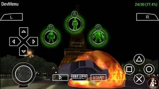 Ben 10 ultimate alien cosmic destruction level 2 Eiffel Tower part 4 Android ppsspp gameplay