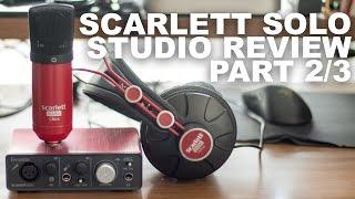 Focusrite Scarlett Studio CM25 Condenser Mic Review / Test