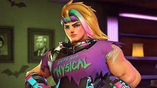 Overwatch: EVERY Halloween Terror 2017 Skin, Intro, Pose and Emote