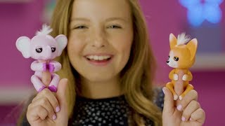 Fingerlings Foxes And Elephants Are All Ears And Repeat What You Say