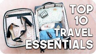 Top 10 Travel Essentials!!