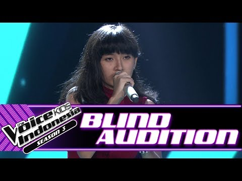 Xxx Mp4 Ninaya Mercy Blind Auditions The Voice Kids Indonesia Season 3 GTV 2018 3gp Sex