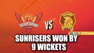 IPL 2017 : Sunrisers Hyderabad vs Gujarat Lions Highlights | SRH vs GL Highlights 2017 | NH9 News