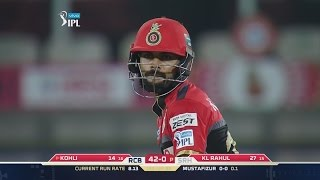 Virat Kohli Batting Highlights In Vivo IPL 2016
