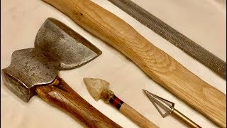 HOW TO MAKE A BOW WITH SIMPLE TOOLS