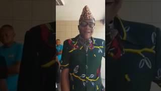 Mobutu de retour a Kinshasa.